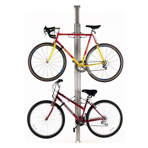 Gear Up Aluminum Floor To Ceiling Bike Rack