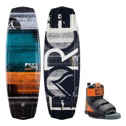 Liquid Force Men's Witness Grind Wakeboard W/ Domain Bindings '15