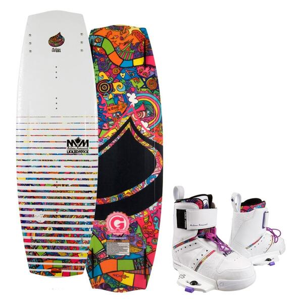 Liquid Force Women's Melissa Hybrid Wakeboard w/ Melissa Bindings '13