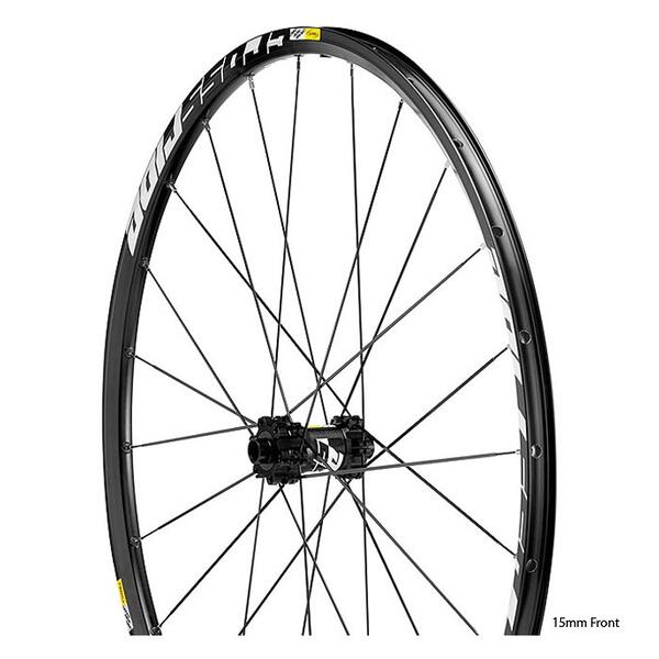 Mavic Crossride Disc 29 15mm fr 12x135rr 6 Bolt Mountain Bike Wheelset