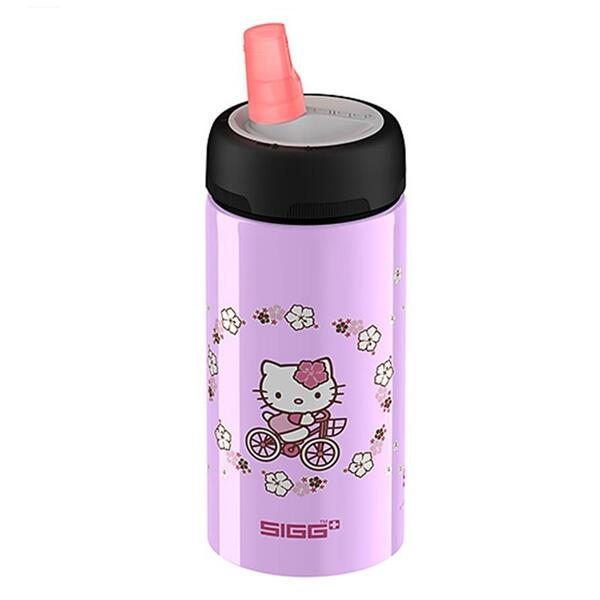 Sigg Active Top Hello Kitty Bike .4l Water Bottle