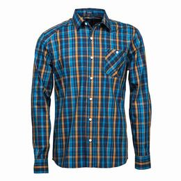 Volcom Men's Everett Plaid Long Sleeve Shirt