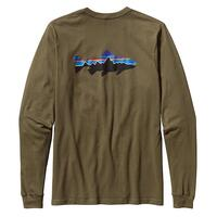 Patagonia Men's Long Sleeve Fitz Roy Trout T-shirt