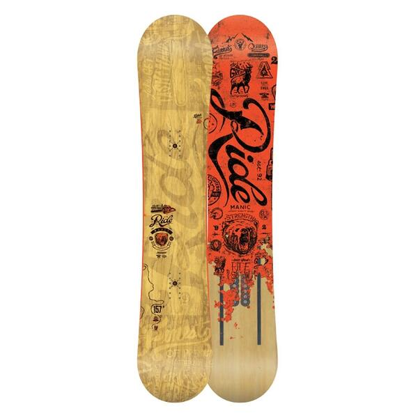 Ride Men's Manic Wide All Mountain Snowboard '14