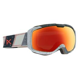 Anon M1 Snow Goggles with Red Solex Lens