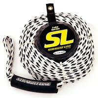 "Straight Line Supreme Tube Rope 5/8"" Mainline 60' (Rated @ 4500 Lbs)"