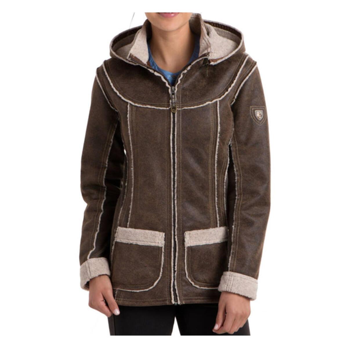 Kuhl Women's Dani Sherpa Jacket, Oak