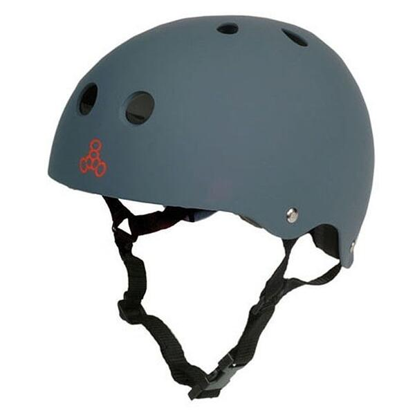 Triple Eight Brainsaver Rubberized Skate Helmet