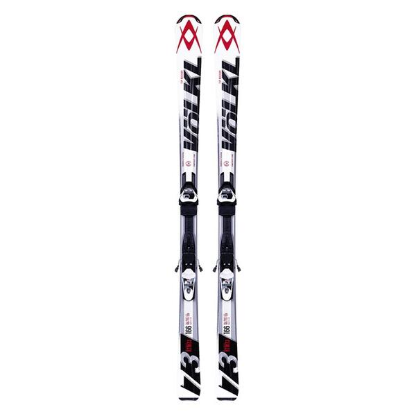 Volkl Men's Rtm 73 All Mountain Skis With 3motion Tp 10.0 Bindings '14