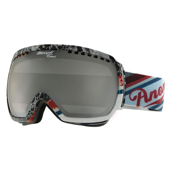 Anon Men's Comrade Merrill Pro Goggles with Silver Amber Lens