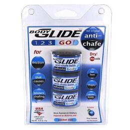 Bodyglide Anti-chafe Balm Pocket Size To Go 3-pks