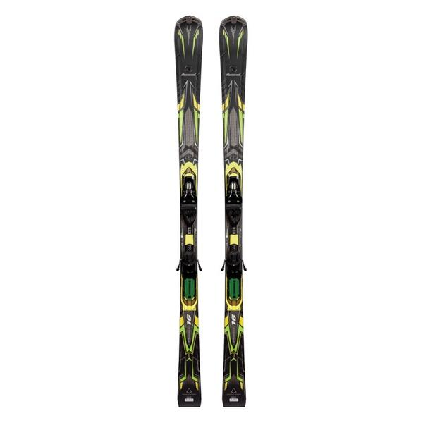 Rossignol Men's Pursuit 16 All Mountain Skis With Axial 120 Bindings '14