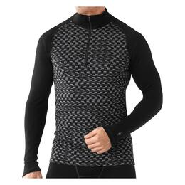 Smartwool Men's Nts Mid 250 Pattern Zip T Baselayer Top