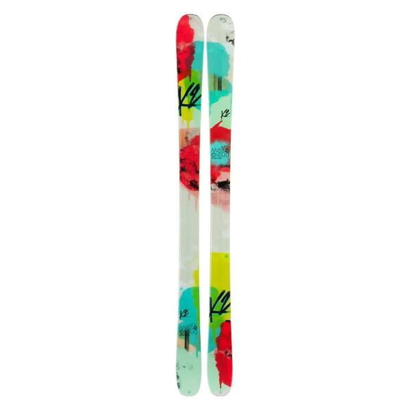 K2 Women's Missconduct Park and Pipe Twin Tip Skis '14 - Flat
