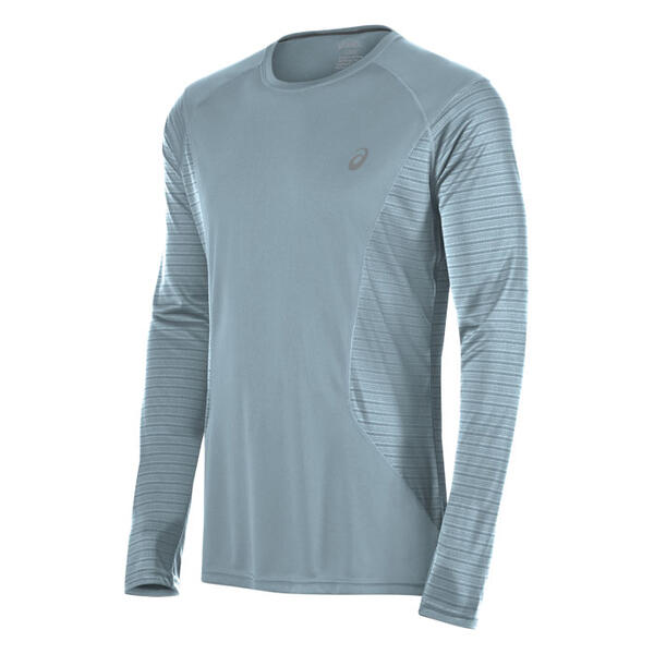 Asics Men's Favorite Printed Long Sleeve Tr