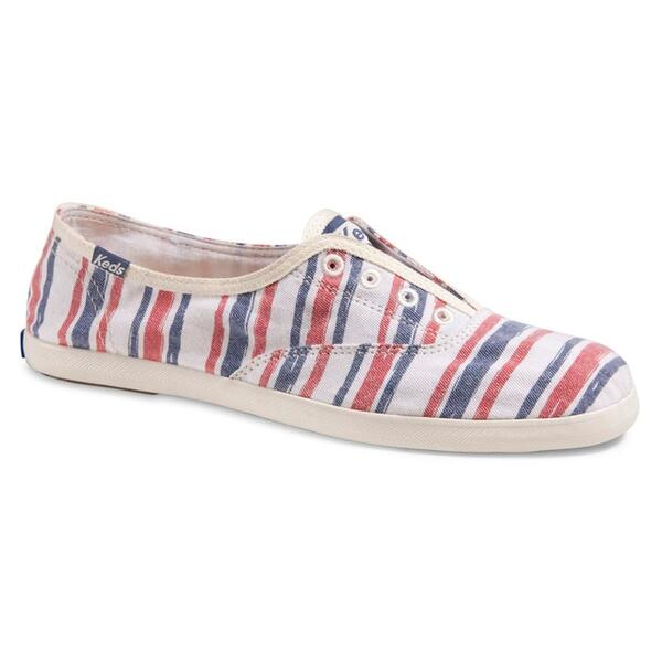 Keds Women's Chillax Washed Beach Stripe Casual Shoes