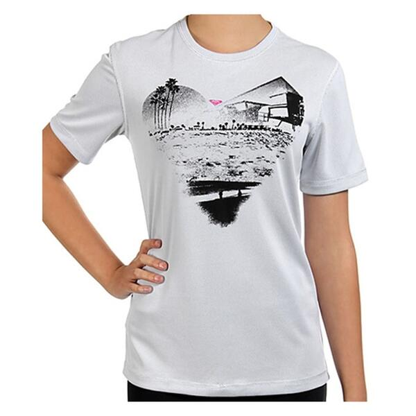 Roxy Jr. Girl's Beach Days Mesh Surf Tee