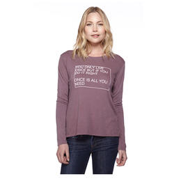 good hYOUman Women's Suzanne Long Sleeve Tee