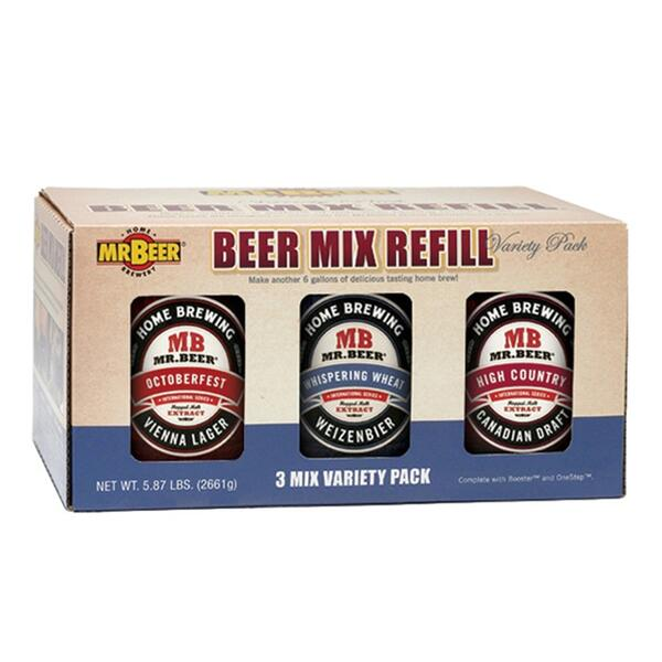Mr Beer International Series Variety 3 Pack