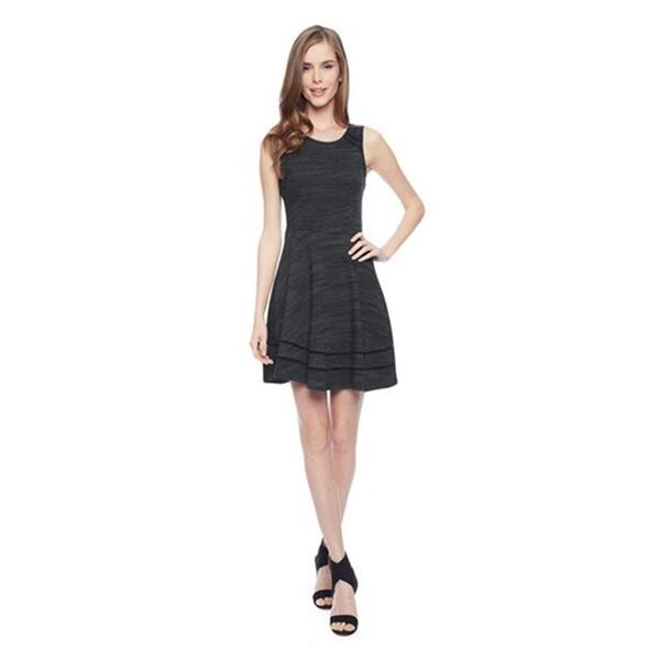 Splendid Women's Terry Lattice Trim Dress