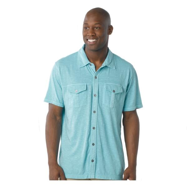 Prana Men's Hayes Short Sleeve Button Down Shirt
