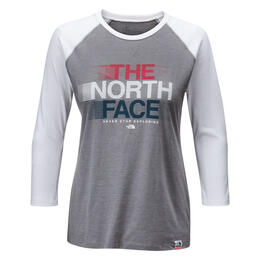 The North Face Women's USA Baseball 3/4 Sle