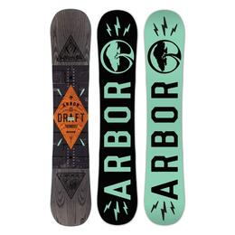 Arbor Men's Draft Snowboard '15