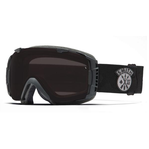 Smith I/O Snow Goggles with Blackout/Red Sensor Lenses