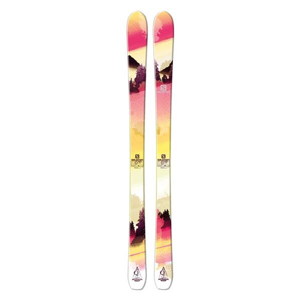 Salomon Women's Quest 88 Lux All Mountain Skis '14 - Flat