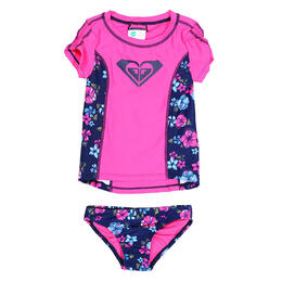Roxy Girl's Tropical Tradition Rashguard Set