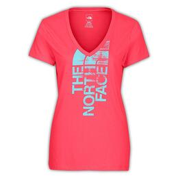 The North Face Women's Short Sleeve White Noise V-Neck Tee