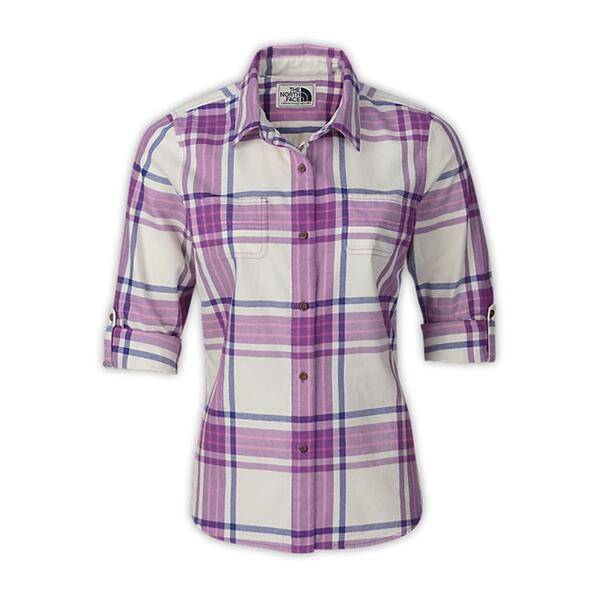 The North Face Women's Greenley Longsleeve Plaid Shirt