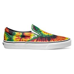 Vans Men's Classic Slip-on Tie Dye Casual Shoes