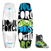 Liquid Force Boy's Fury Wakeboard W/ Fury Bindings '15