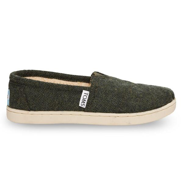 Toms Youth Herringbone Classic Casual Shoes