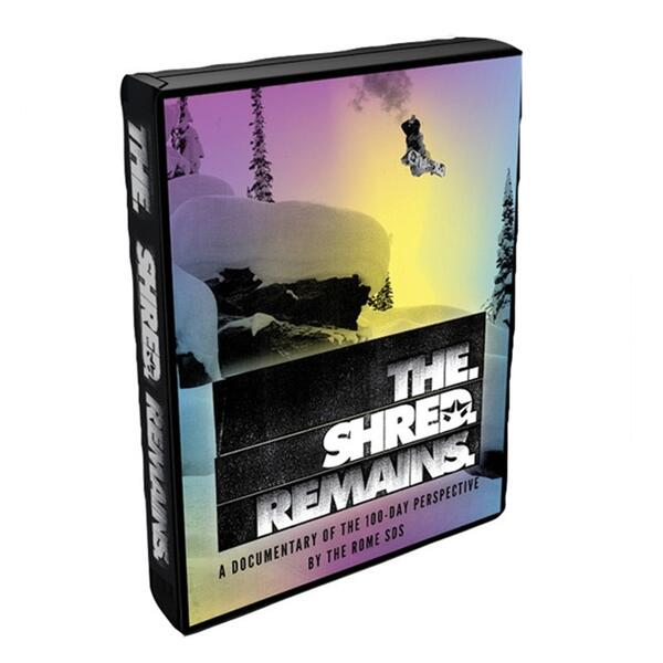 Rome The Shred Remains Dvd