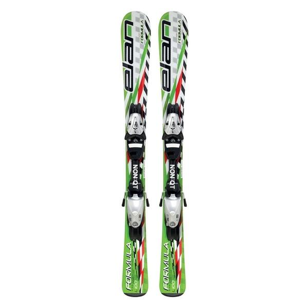 Elan Junior Boy's Formula Skis With EL4.5 Bindings '12