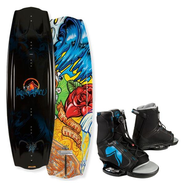 Liquid Force Men's Trip Wakeboard w/ Index Bindings '12