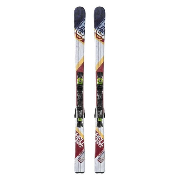 Nordica Men's Avenger 82 All Mountain Skis with P.R. EVO Bindings '14