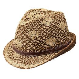Peter Grimm Women's Hurley Fedora Hat (Natural)