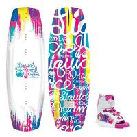 Liquid Force Girl's Dream Wakeboard W/ Dream Bindings '15