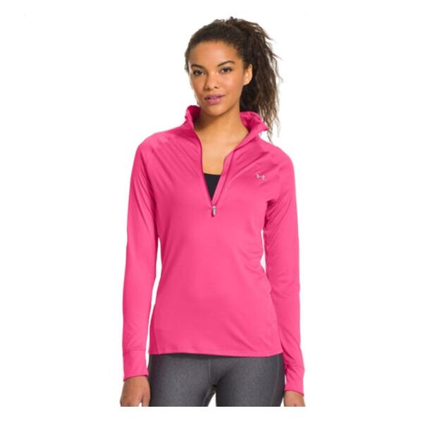 Under Armour Women's Pip 1/4 Zip Running Jacket