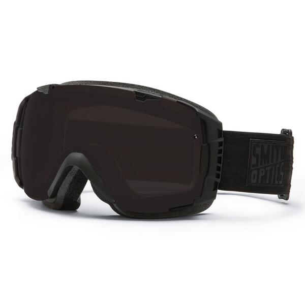 Smith I/O Goggles with Blackout and Red Sensor Lenses