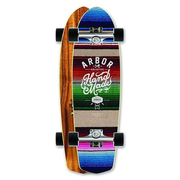 Arbor Pocket Rocket Koa Mini Longboard '13