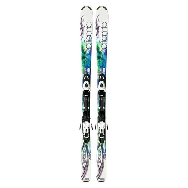 Atomic Women's Affinity Air Skis with XTL 9 Lady Bindings '12