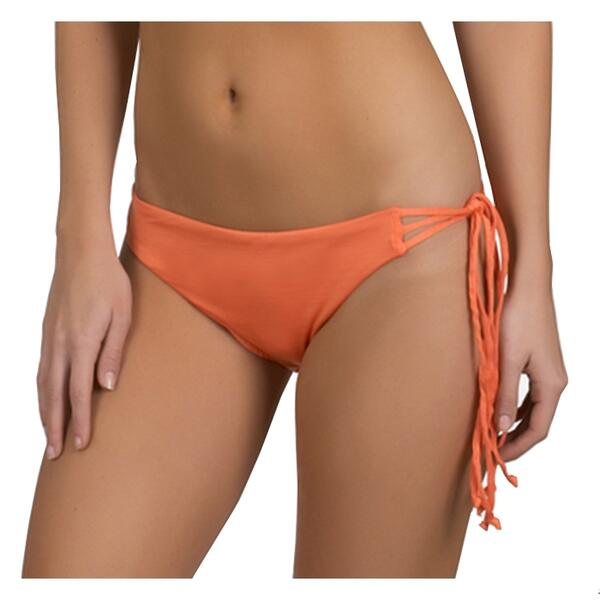 Hurley Jr. Girl's Royal Asymmetrical Tie Side Bikini Bottoms