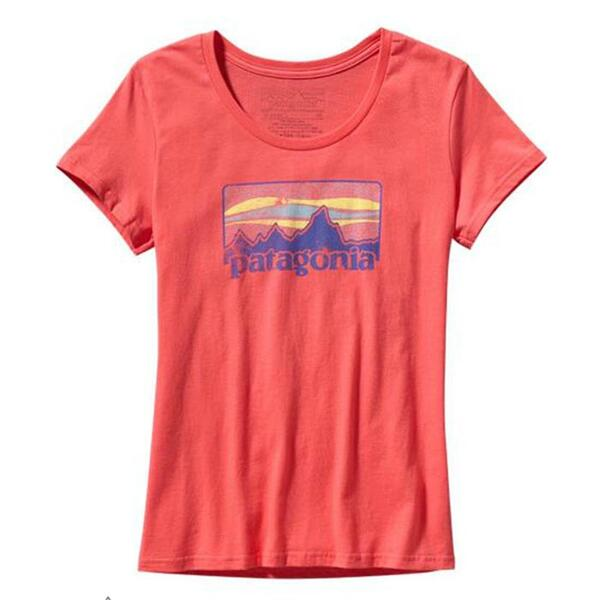 Patagonia Women's 73 Logo Short Sleeve Tee Shirt