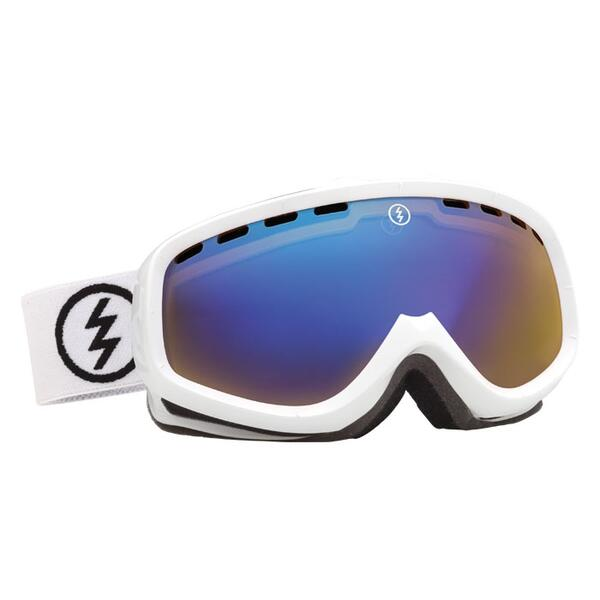 Electric Youth EGK Snow Goggles with Yellow/Blue Chrome Lens