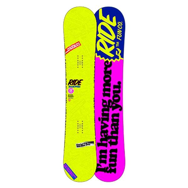 Ride Men's Buckwild Snowboard '13