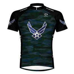 Primal Wear Men's U.s. Air Force Engage Cycling Jersey